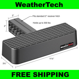New Weathertech Bumpstep 2 Hitch Mounted Step And Bumper Protection 81bs1