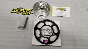 Supercharged 12 15 Camaro Zl1 Iw Crank Harmonic Balancer Metco 9 55 Pulley Lsa