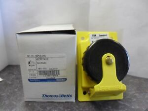 New T b Russellstoll 9r53u2w Water Proof tight Receptacle 50 Amps 250vac Nib