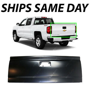 New Primered Steel Tailgate For 2014 2019 Chevy Silverado Gmc Sierra W Assist