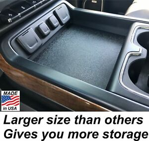 2014 To 2018 Gmc Sierra Crew Cab Center Console Organizer Lid Secret Compartment