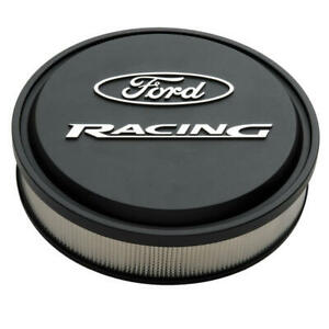 Proform Air Cleaner Assembly 302 380 Ford Racing Black Crinkle Aluminum 13 X 3