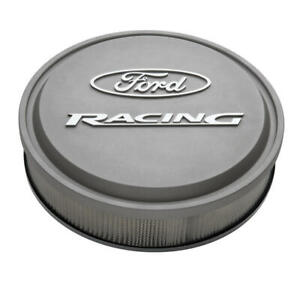 Proform Air Cleaner Assembly 302 382 Ford Racing Gray Aluminum Round 13 X 3