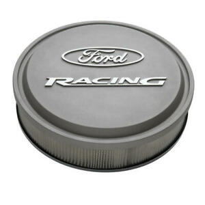 Proform Air Cleaner Assembly 302 382 Ford Racing Cast Gray Aluminum 13 X 3