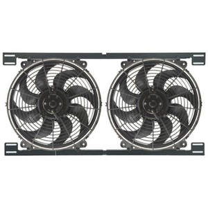 Derale Engine Cooling Fan Assembly 16834 Tornado Dual 2 X 14 Dual Electric