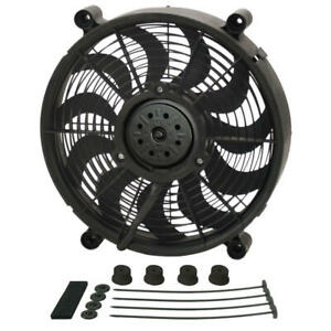 Derale Cooling Fan Assembly 18214 High Output Single Rad 14 Single Electric