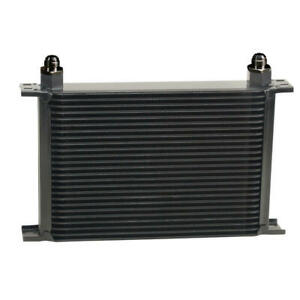 Derale Oil Cooler 52508 Series 10000 13 000 25 Row Aluminum Stacked Plate