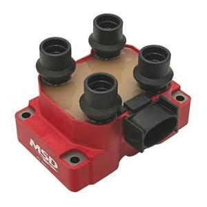 Msd Ignition Coil Pack 8241 Blaster Replacement Red 40 000v For Ford 4 6l Mod