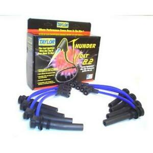 Taylor Spark Plug Wire Set 82641 Thundervolt 8 2mm Blue Oe For Dodge V8