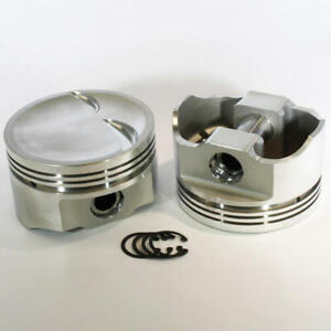 Dss Racing Piston Set 8723 4060 E 4 060 Bore Forged Dish For Ford 302 Sbf