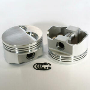 Dss Piston Set 8720 4000 E series 4 000 Bore 3cc Flat Top For Ford 302 Sbf