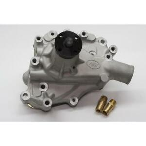 Prw Water Pump 1430200 Satin Aluminum Mechanical For Ford 302 Sbf