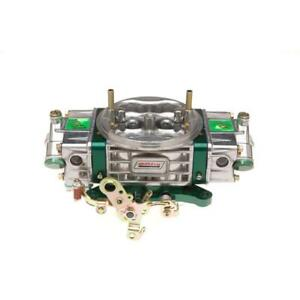 Quick Fuel Carburetor Q 950 E85 Q 950 Cfm 4bbl Mechanical Green Polished