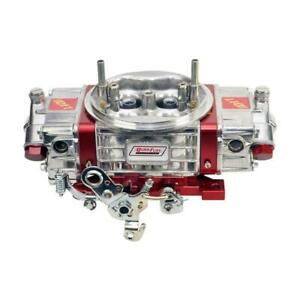 Quick Fuel Carburetor Q 850 ct Q 850 Cfm 4bbl Mechanical Secondary Red polished