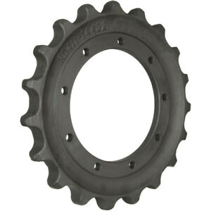 Prowler Kubota Kx161 3 Sprocket Part Number Rd411 14432 9 Hole 19 Teeth