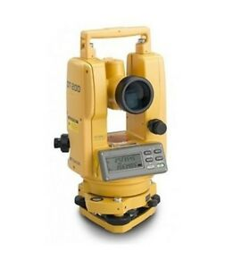 Topcon Dt 200 Series Advanced Digital Theodolite