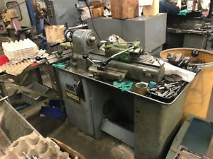 Hardinge 9 Second Operation Variable speed Lathe dsm 59