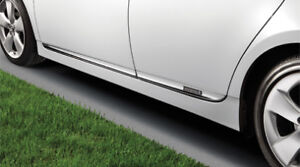 Genuine Toyota Oem 2012 15 Prius Chrome Side Door Lower Moldings Pt29a 47120