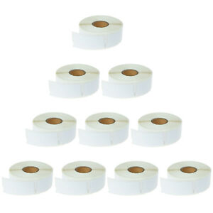 10 Rolls Of 500 Multipurpose Labels 30336 1 X 2 1 8 For Dymo Labelwriters 450