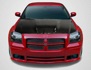 2005 2007 Dodge Magnum Carbon Creations Srt Look Hood 113089