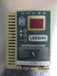 Leeson Speedmaster Adjustable Speed Ac Motor Control 3hp 2 2kw