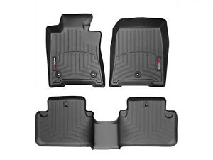 Weathertech Floor Mats Floorliner For Acura Tl Fwd 2009 2014 Full Set Black
