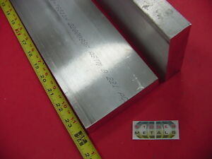 2 Pieces 1 X 4 Aluminum 6061 Flat Bar 24 Long T6511 Solid Plate Mill Stock
