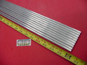 10 Pieces 1 4 Aluminum 6061 Round Rod 36 Long T6511 Solid Lathe Stock 30
