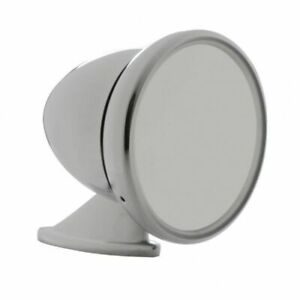 Chrome Gt Racing Bullet Style Mirror Universal Application