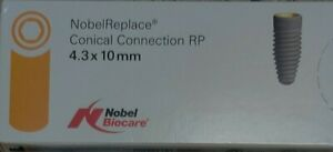 Nobel Biocare Parallel Conical Connection 3 75 X 15mm Exp 2019 10