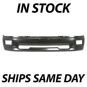 New Primered Gray Steel Bumper Face Bar For 2009 2012 Dodge Ram 1500 With Fog