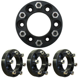 Prowler 1 5 Inch 6 Lug Skid Steer Wheel Spacers 9 16th Inch Studs 4 62 Hub Dia