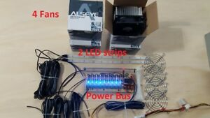 Robo shop Pro Cnc Nema Motor Coolers And Led Strips For Cnc Router Or Cnc Mill