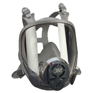 3m 6900 Full Face Respirator Large With Din 6884 Center Adapter 6900pf