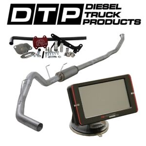 Raceme Ultra 4 Exhaust Dpf Delete For Dodge Cummins Diesel 6 7 07 17 Egr