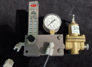 Dwyer Flowmeter Regulator Rma 42 ssv Gauge
