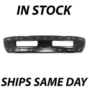 New Primered Steel Bumper Face Bar For 1994 2001 Dodge Ram 1500 2500 3500 94 01