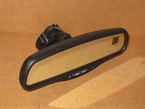 2002 Chevy Suburban Rear View Mirror Oem Factory Compass Temp