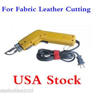 Us Stock 110v100w Durable Electric Fabric Leather Cutting Hot Knife Cutter Tool