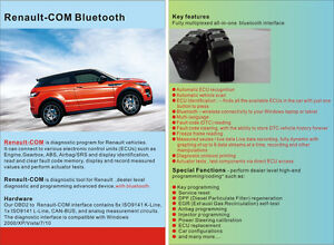 New Renault com Bluetooth Diagnostic And Programming Tool For Renault Free Post