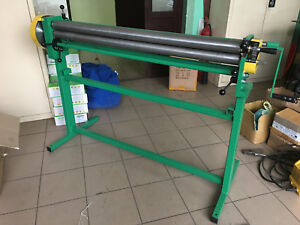 Sheet Metal Rolling Mill Bending Rolls Slip Rolls Rollers 1250mm 1 0mm Video