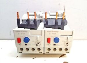 Lot Of 2 Allen bradley 193 ed1bb Series C Overload Relay