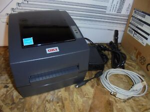 Oki Ld630d Direct Thermal Printer Monochrome Desktop Shipping Labels
