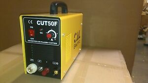 Pilot Arc Plasma Cutter Cut50f Inverter 50amp 220v Cal Electric