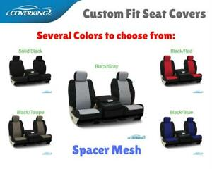 Coverking Spacer Mesh Custom Fit Seat Covers For Porsche Cayenne