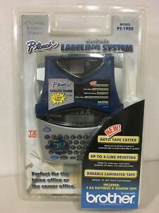 Brand New Brother Pt1900 Labeling System Factory Sealed
