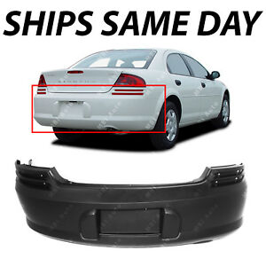 New Primered Bumper Cover Replacement For 2001 2006 Dodge Stratus 4 Door Sedan