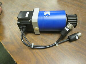 Omron Ac Servo Motor W Reducer Sgmph 02aaa61d 0y 200w 3000rpm 200v 2a Used