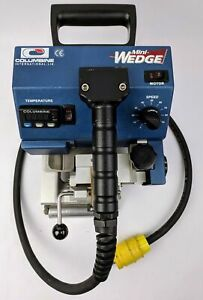 Genuine Columbine Mini Wedge Plastic Welder Temperature And Speed Control