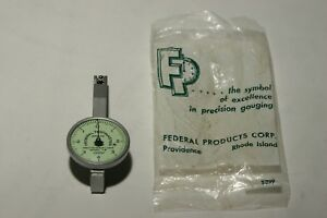 Vintage Federal Jeweled Testmaster Lt 2 0001 Dial Test Indicator Made In Usa